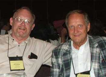 John Jackman and Ken Curtis at the 2008 ICVM Convention